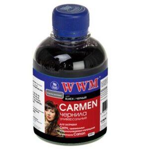 Чорнило (200г) WWM CANON UNIVERSAL CARMEN black (CU/B)