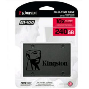 Накопичувач SSD 2.5″ 240GB Kingston (SA400S37/240G)