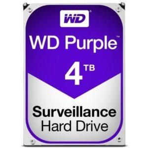 Жорсткий диск 3.5″ 4TB Western Digital (WD40PURZ)