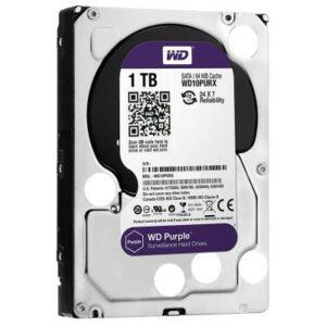Жорсткий диск 3.5″ 1TB Western Digital (WD10PURZ)