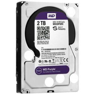 Жорсткий диск 3.5″ 2TB Western Digital (WD20PURZ)