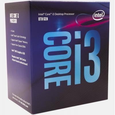 Процесор INTEL Core™ i3 8100 (BX80684I38100)