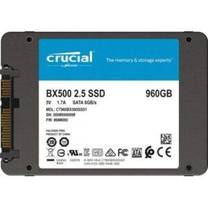 Накопичувач SSD 2.5″ 960GB MICRON (CT960BX500SSD1)