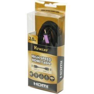 Кабель мультимедійний HDMI to HDMI 2.0m ferrite v1.4 Cablexpert (VC-HDMI-510-2m)