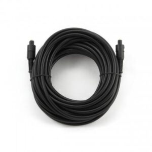 Кабель мультимедійний Optical Toslink M-M 1m black Cablexpert (CC-OPT-1M)