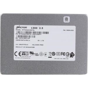 Накопичувач SSD MICRON 2.5″ 256GB (MTFDDAK256TDL-1AW1ZABYY)