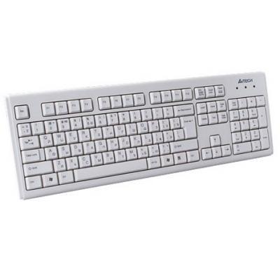 Клавіатура A4tech KM-720-WHITE-US
