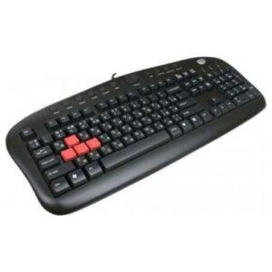 Клавіатура USB A4tech KB-28G Black (KB-28G-USB)