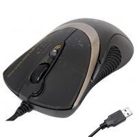 Мишка A4tech F4 black