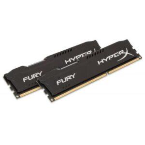 Модуль пам'яті для комп'ютера DDR3 8Gb (2x4GB) 1600 MHz HyperX Fury Black Kingston (HX316C10FBK2/8)