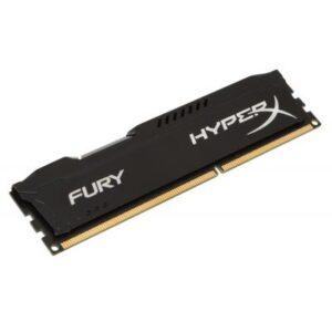 Модуль пам'яті для комп'ютера DDR3 8Gb 1600 MHz HyperX Fury Black Kingston (HX316C10FB/8)