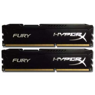 Модуль пам'яті для комп'ютера DDR3 16GB (2x8GB) 1866 MHz HyperX FURY Black Kingston (HX318C10FBK2/16)