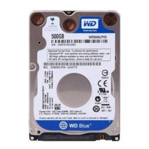 Жорсткий диск для ноутбука 2.5″ 500GB Western Digital (WD5000LPCX)