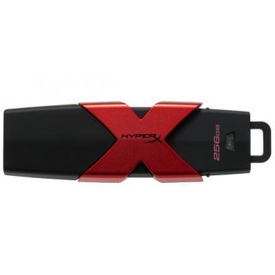 USB флеш накопичувач Kingston 256GB HyperX Savage USB 3.1 (HXS3/256GB) флешка 256 гб : матеріал корпусу - пластик, Колір - чорний
