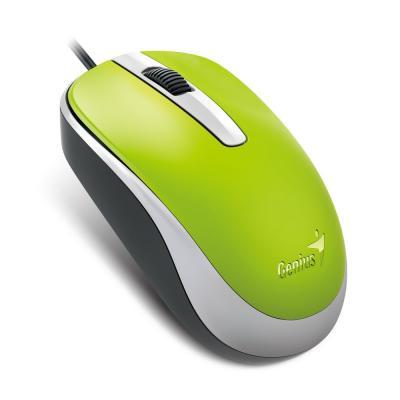 Мишка Genius DX-120 USB Green (31010105105)