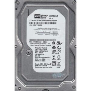 Жорсткий диск 3.5″  250Gb Western Digital (WD2500AVJS)