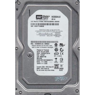 250Gb Western Digital