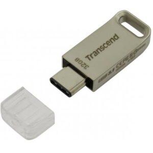 USB флеш накопичувач Transcend 32GB JetFlash 850 Silver USB 3.1 (TS32GJF850S)
