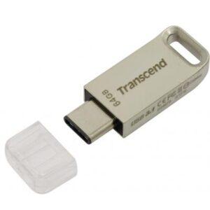 USB флеш накопичувач Transcend 64GB JetFlash 850 Silver USB 3.1 (TS64GJF850S)