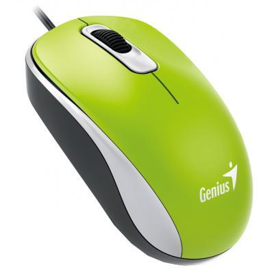 Мишка Genius DX-110 USB Green (31010116105)