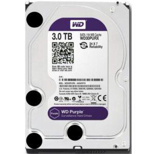 Жорсткий диск 3.5″ 3TB Western Digital (WD30PURZ)