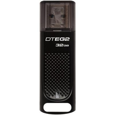 USB флеш накопичувач Kingston 32GB DataTraveler Elite G2 Metal Black USB 3.1 (DTEG2/32GB)