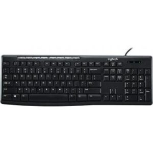 Клавіатура Logitech K200 Media Keyboard RU (920-008814)