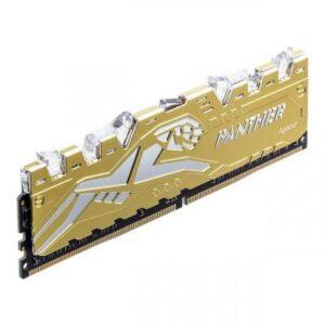 Модуль пам'яті для комп'ютера DDR4 8GB 3200 MHz Panther Rage RGB Silver-Golden Apacer (EK.08G21.GJM)