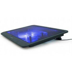 Підставка до ноутбука GEMBIRD 15.6″, 1×125 mm fan, black (NBS-1F15-03)