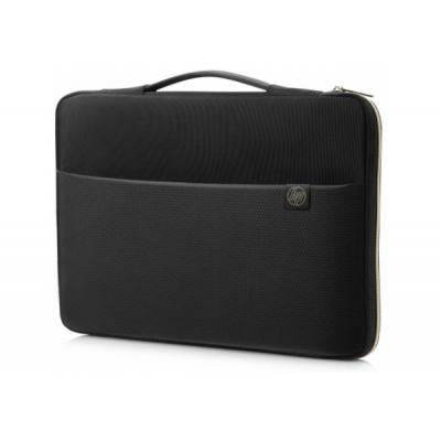 "Сумка для ноутбука HP HP 15.6"" Carry Sleeve Black/Go (3XD35AA)"