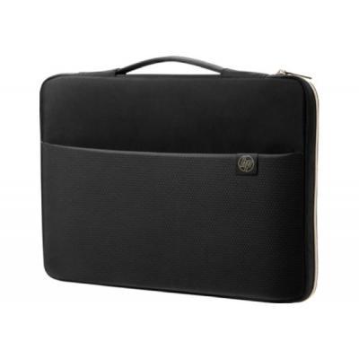 """Сумка для ноутбука HP HP 15.6"""" Carry Sleeve Black/Si (3XD36AA)"""