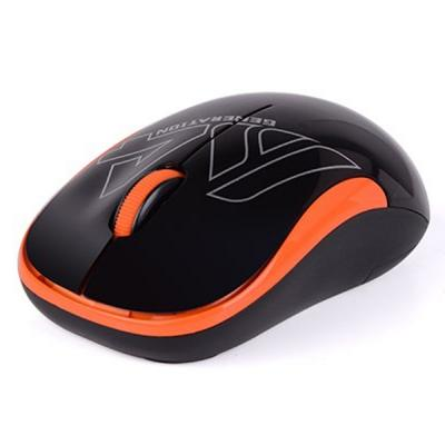 Мишка A4tech G3-300N Black+Orange