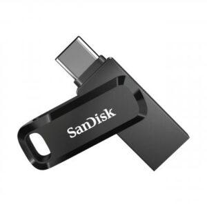 USB флеш накопичувач SANDISK 256GB Ultra Dual Drive Go USB 3.1/Type C (SDDDC3-256G-G46)