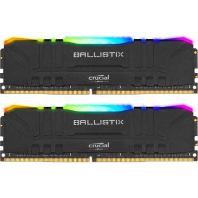 DDR4 16GB (2x8GB) 3200 MHz Ballistix RGB MICRON (BL2K8G32C16U4BL)