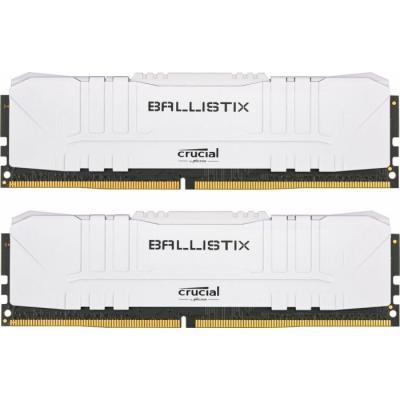 DDR4 16GB (2x8GB) 3200 MHz Ballistix White MICRON (BL2K8G32C16U4W)