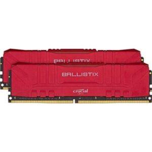 Модуль пам'яті для комп'ютера DDR4 32GB (2x16GB) 3600 MHz Ballistix Red MICRON (BL2K16G36C16U4R)