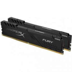 Модуль пам'яті для комп'ютера DDR4 64GB (2x32GB) 3000 MHz HyperX Fury Black Kingston (HX430C16FB3K2/64)