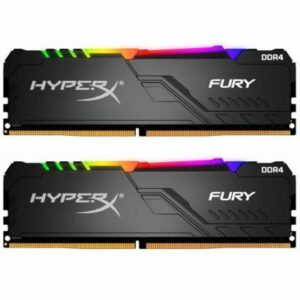Модуль пам'яті для комп'ютера DDR4 16GB (2x8GB) 3733 MHz HyperX Fury RGB Kingston (HX437C19FB3AK2/16)