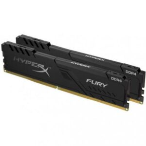 Модуль пам'яті для комп'ютера DDR4 64GB (2x32GB) 2400 MHz HyperX Fury Black Kingston (HX424C15FB3K2/64)