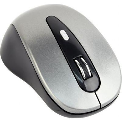 Мишка GEMBIRD MUSW-6B-01-BG Silver+Black (MUSW-6B-01-BG)