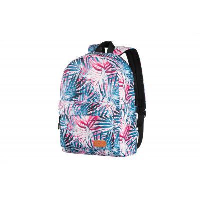 Рюкзак для ноутбука 2E TeensPack Palms, Pink (2E-BPT6114PK)