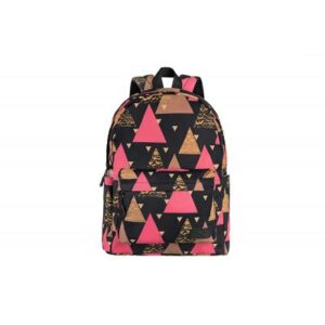 Рюкзак для ноутбука 2E TeensPack Triangles, black (2E-BPT6114BK)