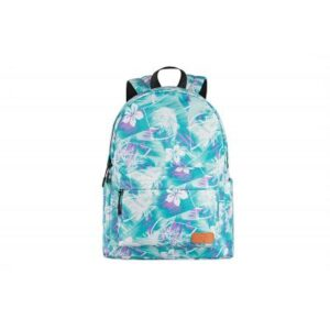 Рюкзак для ноутбука 2E TeensPack Wildflowers, Green-blue (2E-BPT6114GB)