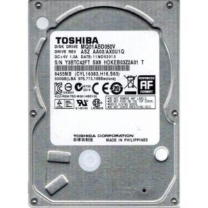 Жорсткий диск для ноутбука 2.5″ 500GB TOSHIBA (# MQ01ABD050V #)