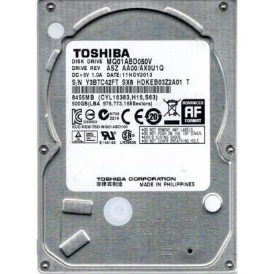 500GB TOSHIBA