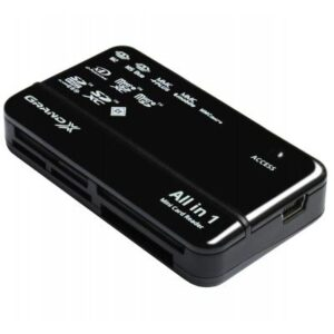 Зчитувач флеш-карт Grand-X CRX05Black