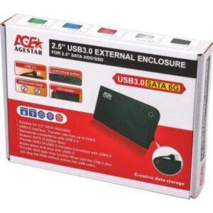 Кишеня зовнішня AgeStar 3UB 2A14 (Black)
