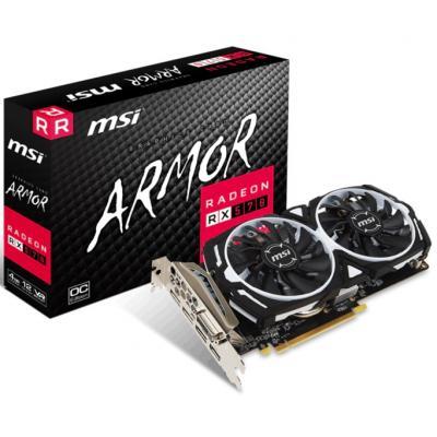 Відеокарта MSI Radeon RX 570 4096Mb ARMOR OC (RX 570 ARMOR 4G OC)