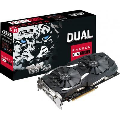 Відеокарта ASUS Radeon RX 580 8192Mb DUAL OC (DUAL-RX580-O8G)