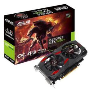 Відеокарта ASUS GeForce GTX1050 Ti 4096Mb CERBERUS OC (CERBERUS-GTX1050TI-O4G)